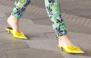 穿什么鞋显高显瘦?V口鞋值得拥有