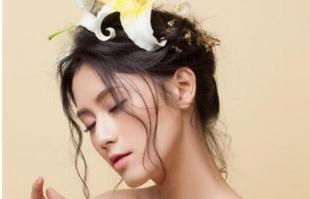 仙气森系新娘发型教程