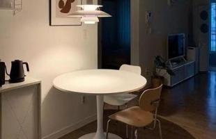 家居风尚单身公寓设计,女性单身公寓简洁舒适