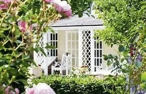 女性时尚家居风尚,一个院子就是一种人生