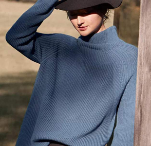 温暖毛衣带给冬天的时尚浪漫感