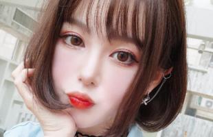 女生长脸适合剪什么刘海?女生长脸剪什么刘海比例好