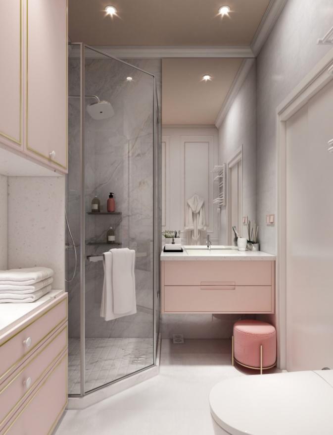 浴室装修选推拉门还是浴帘?家里要装修的注意了!