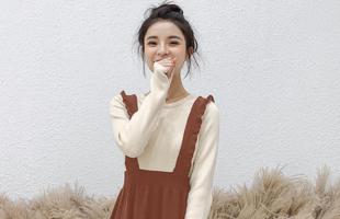 冬天的背带裙应该如何穿搭看起来减龄?