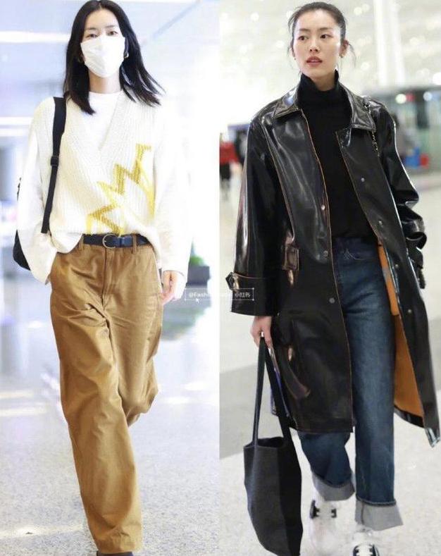 大表姐刘雯时尚街拍来啦,原来超模都在这么穿!