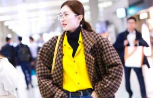 保暖单品高领毛衣怎么搭最好看?衬衫加毛衣是绝配!