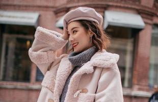 羊羔毛外套温暖你的冬天,来看看羊羔毛的时尚穿搭!