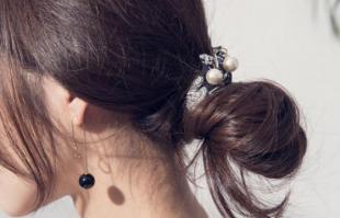 韩式低盘发也太美了吧!扎起这个发型秒变温柔小姐姐!