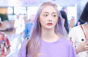2021年头发染什么颜色好看?霞光紫真的是太有气质了!