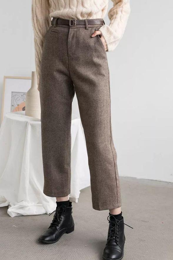 直筒裤如何搭配上衣?这些时尚穿搭示范一定要看看!