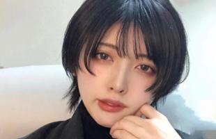女生日系鲻鱼头发型推荐!不剪个短发,你都不知道自己有多美!