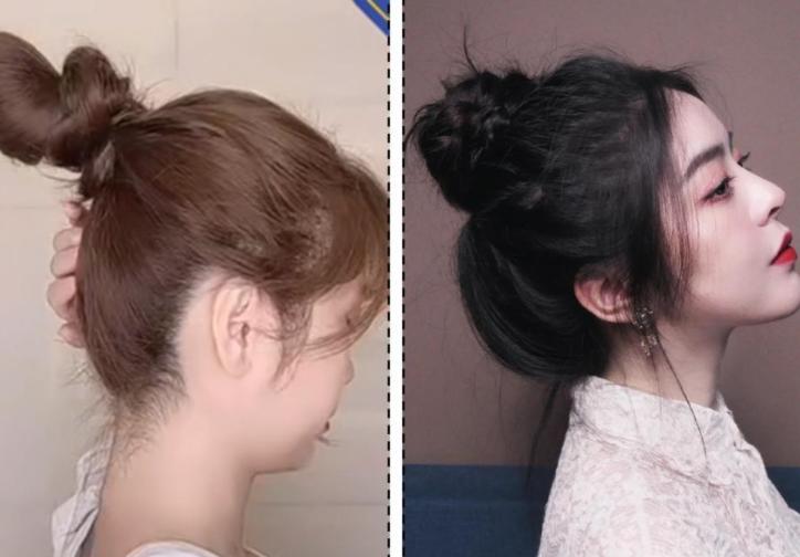 小个子女生如何扎发型?这样扎好看又精致,赶紧学起来!