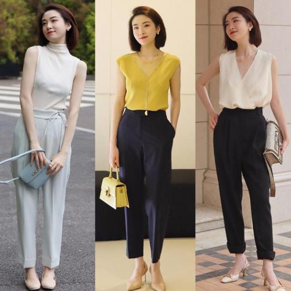 才是夏季简约时尚穿搭,一身穿搭清爽又时髦,让你气质翻倍!