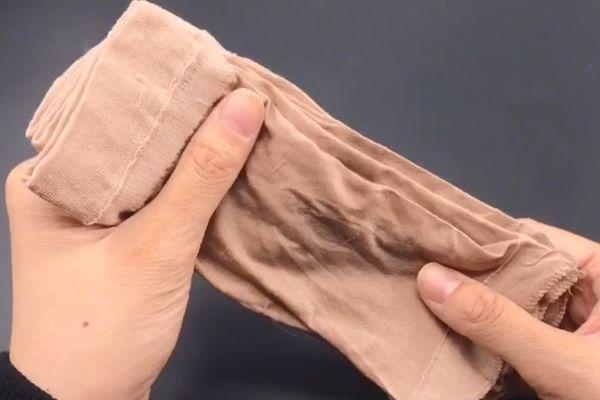 新买的丝袜别着急穿,这样处理一下,穿一年都不会抽丝破洞!