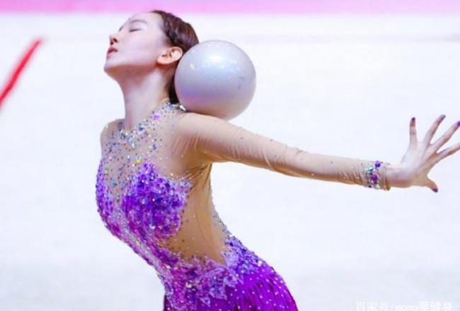 女明星参加体操比赛,画面很美,但这真的是体操吗?
