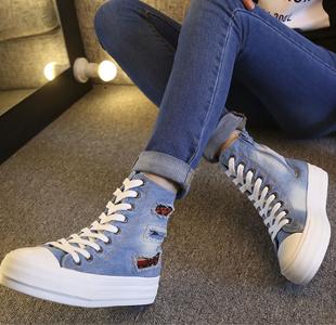 帆布鞋怎么穿出时尚感